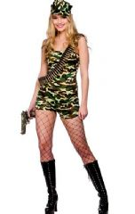 Bootcamp Babe Costume (SF0128)